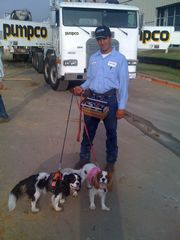 cocnrete operator with willie and dixie