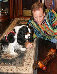 cavalier willie dog bone